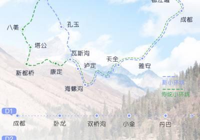 冬季川西新小环线攻略